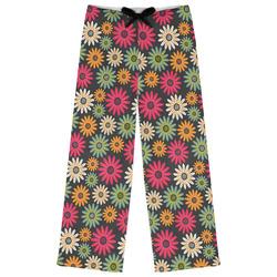 Daisies Womens Pajama Pants (Personalized)