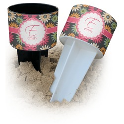 Daisies Beach Spiker Drink Holder (Personalized)