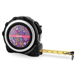 Simple Floral Tape Measure - 16 Ft (Personalized)