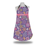 Simple Floral Apron (Personalized)