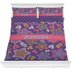 Simple Floral Comforters (Personalized)