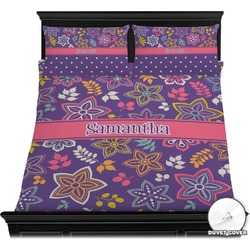 Simple Floral Duvet Covers (Personalized)
