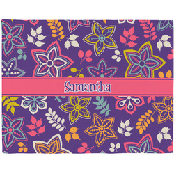 Simple Floral Placemat (Fabric) (Personalized)