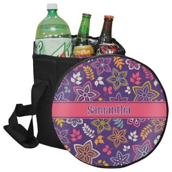 Simple Floral Collapsible Cooler & Seat (Personalized)