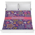 Simple Floral Comforter (Personalized)