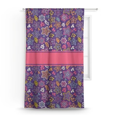 Simple Floral Curtain (Personalized)