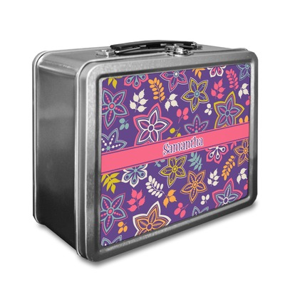 Simple Floral Lunch Box (Personalized)