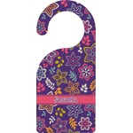 Simple Floral Door Hanger (Personalized)