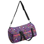 Simple Floral Duffel Bag - Multiple Sizes (Personalized)