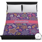 Simple Floral Duvet Cover (Personalized)