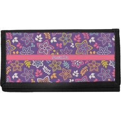 Simple Floral Checkbook Cover (Personalized)