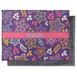 Simple Floral Microfiber Screen Cleaner (Personalized)