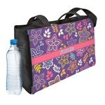 Simple Floral Ladies Workout Bag (Personalized)