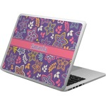 Simple Floral Laptop Skin - Custom Sized (Personalized)