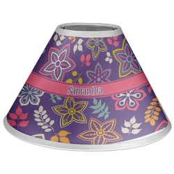 Simple Floral Coolie Lamp Shade (Personalized)