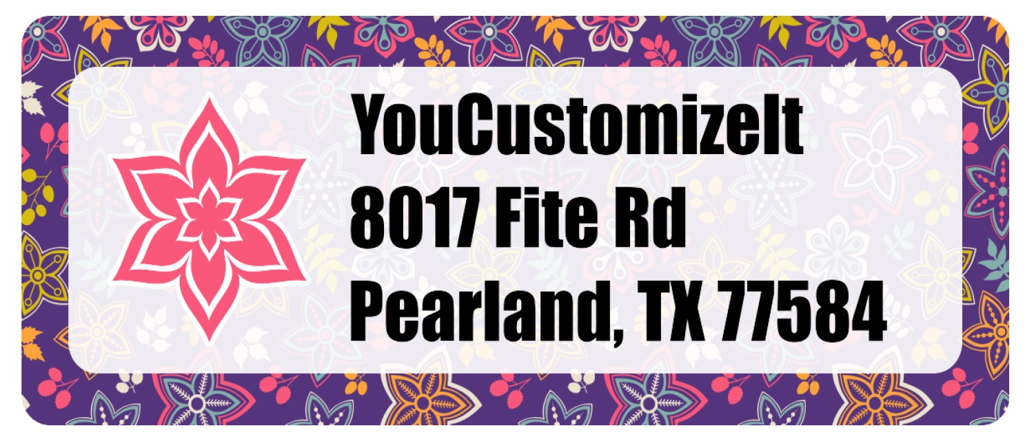 It is an image of Vibrant Easy Way to Make Address Labels