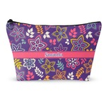 Simple Floral Makeup Bags (Personalized)