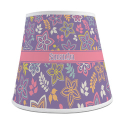Simple Floral Empire Lamp Shade (Personalized)