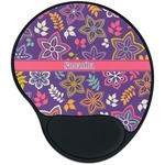 Simple Floral Mouse Pad with Wrist Support