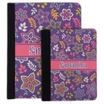 Simple Floral Padfolio Clipboard (Personalized)