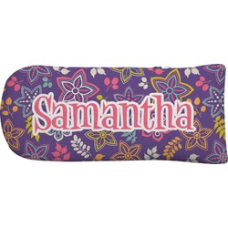 Simple Floral Putter Cover (Personalized)