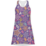 Simple Floral Racerback Dress (Personalized)