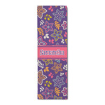 Simple Floral Runner Rug - 3.66'x8' (Personalized)