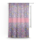 Simple Floral Sheer Curtains (Personalized)