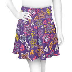 Simple Floral Skater Skirt (Personalized)
