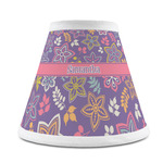 Simple Floral Chandelier Lamp Shade (Personalized)