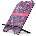 Simple Floral Stylized Tablet Stand (Personalized)
