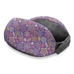 Simple Floral Travel Neck Pillow