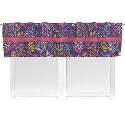 Simple Floral Valance (Personalized)