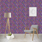 Simple Floral Wallpaper & Surface Covering