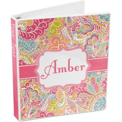 Abstract Foliage 3-Ring Binder (Personalized)