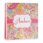 Abstract Foliage 3-Ring Binder - 1 inch (Personalized)