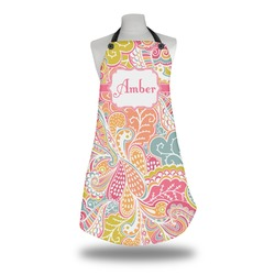 Abstract Foliage Apron (Personalized)