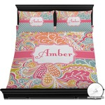 Abstract Foliage Duvet Covers (Personalized)