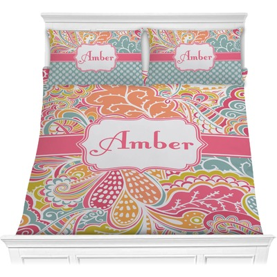 Abstract Foliage Comforters (Personalized)