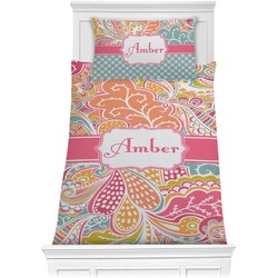 Abstract Foliage Comforter Set - Twin XL (Personalized)