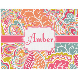 Abstract Foliage Placemat (Fabric) (Personalized)