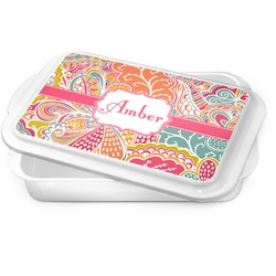 Abstract Foliage Cake Pan (Personalized)