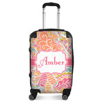 Abstract Foliage Suitcase (Personalized)