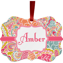 Abstract Foliage Ornament (Personalized)