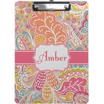 Abstract Foliage Clipboard (Personalized)