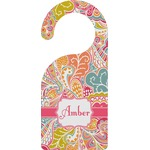 Abstract Foliage Door Hanger (Personalized)
