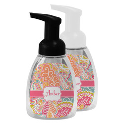 Abstract Foliage Foam Soap Bottle (Personalized)