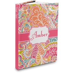 Abstract Foliage Hardbound Journal (Personalized)