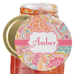 Abstract Foliage Jar Opener (Personalized)