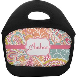 Abstract Foliage Toddler Lunch Tote (Personalized)